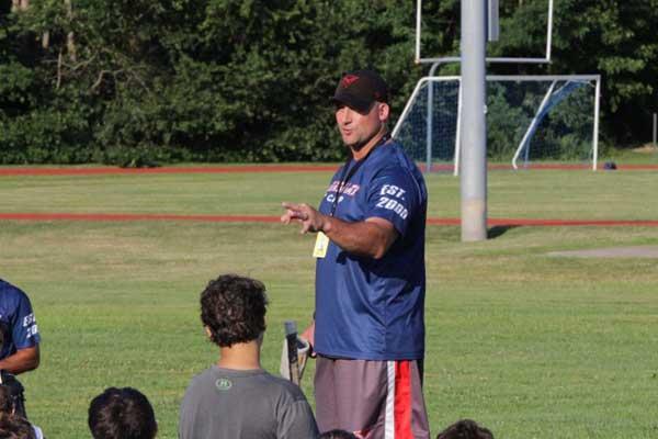 coach sanders team training